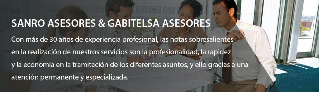 Sanro asesores y Gabitelsa Asesores